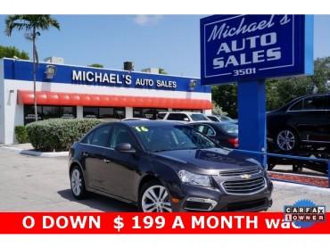 2016 Chevrolet Cruze Limited  4D Sedan  - 16513 - Image 1