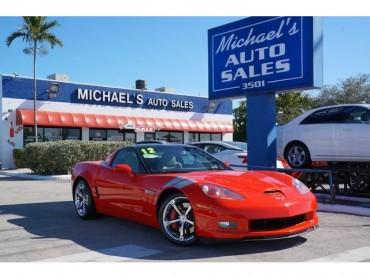 2012 Chevrolet Corvette 3LT 2D Coupe  - 16690A - Image 1
