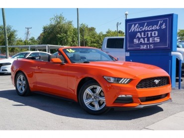 2016 Ford Mustang  2D Convertible  - 17097 - Image 1