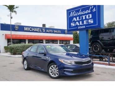 2016 Kia Optima  4D Sedan  - 17225 - Image 1