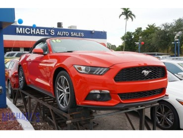 2016 Ford Mustang EcoBoost Premium 2D Convertible  - 17528 - Image 1
