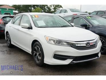 2017 Honda Accord LX 4D Sedan - 21926 - Image 1