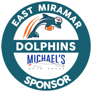 Proud to be a sponsor of the East Miramar Dolphins image